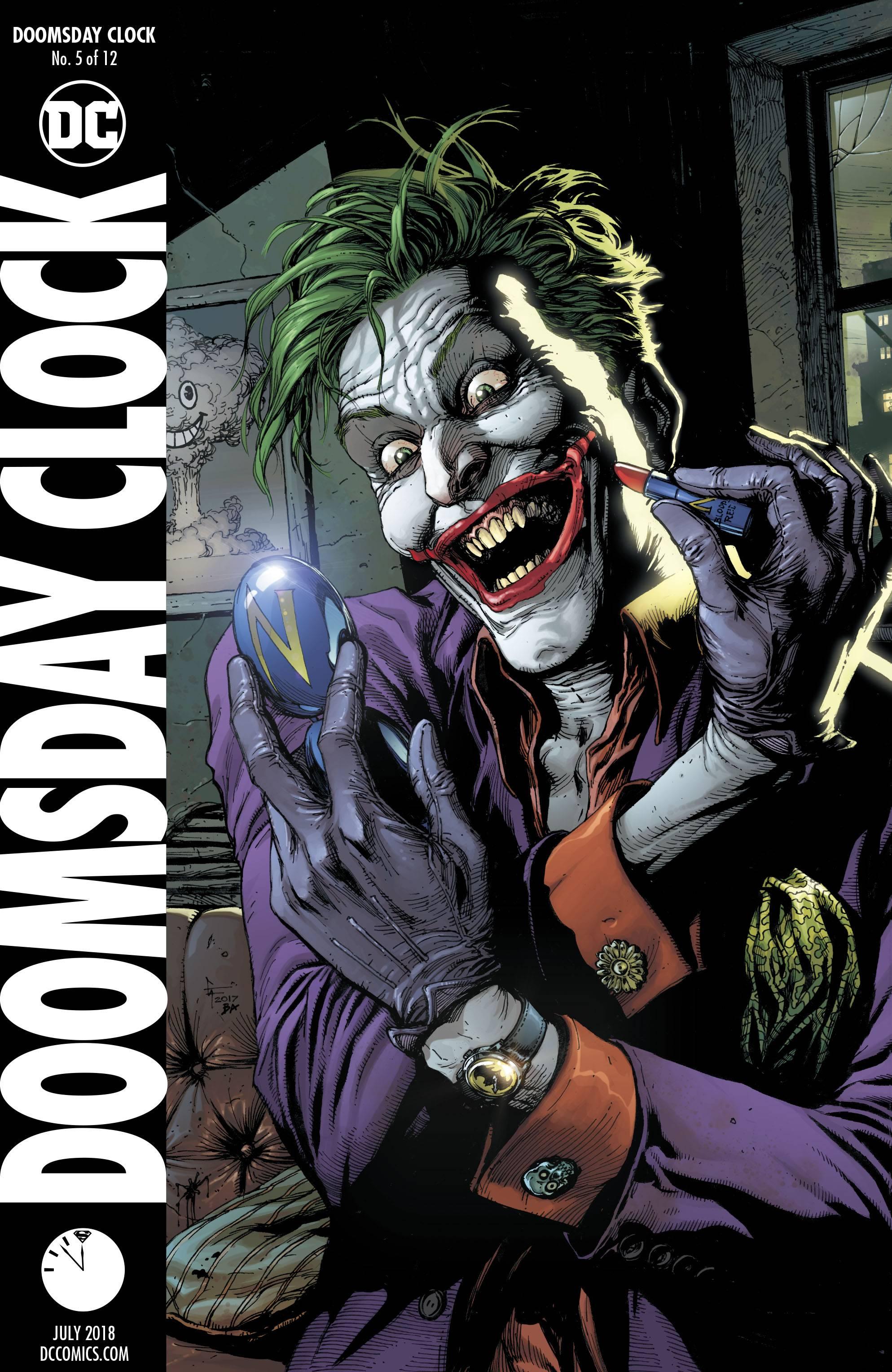 Doomsday Clock 5 Variant Cover 2017 Comics Cosmic Comics