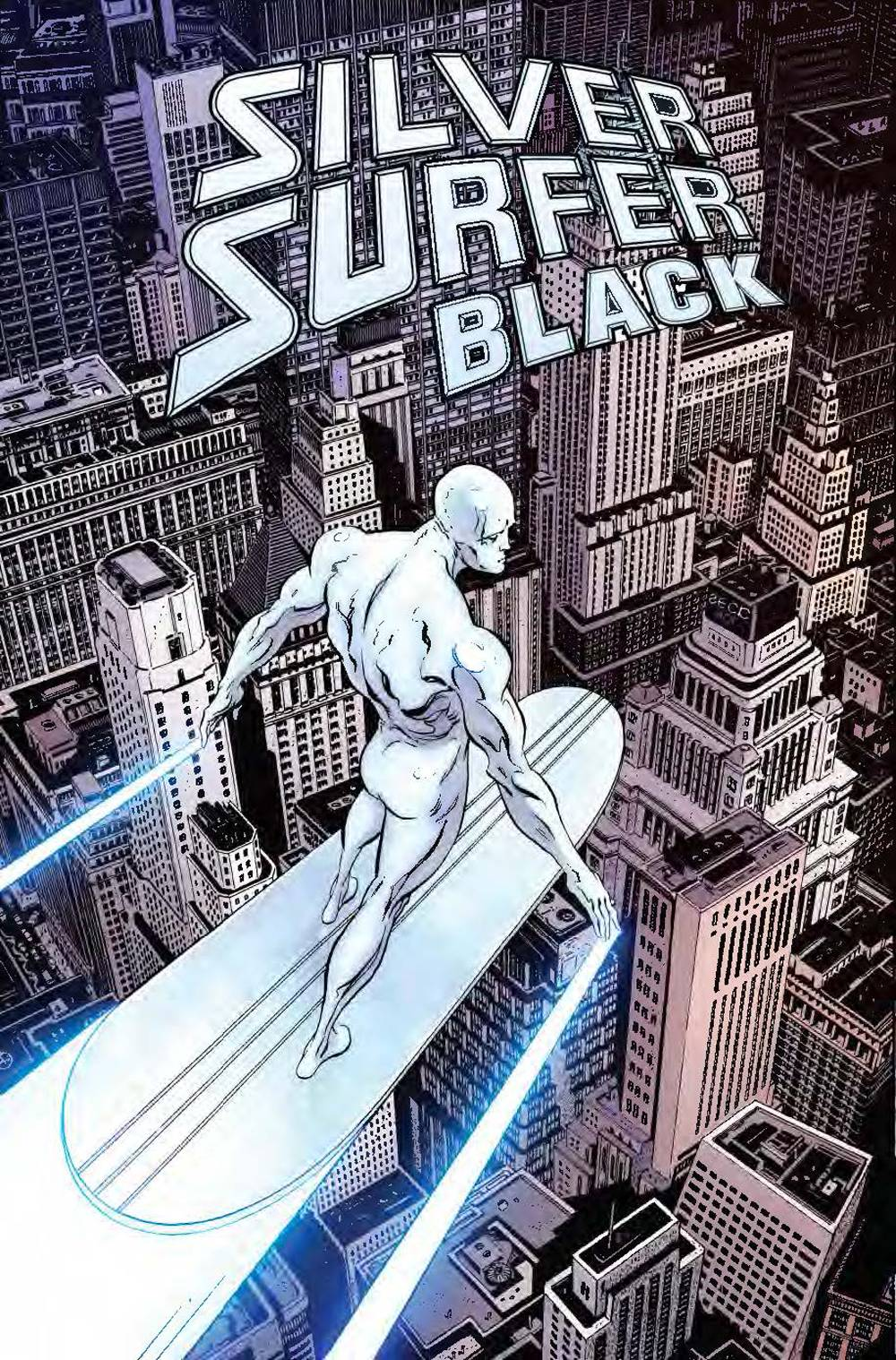 Silver Surfer Black #1 Cover A
