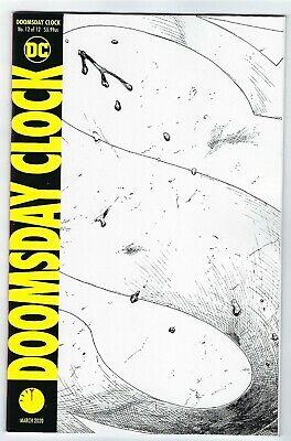 Doomsday Clock 7 Variant Cover 2017 Comics Cosmic Comics